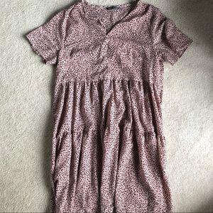SHEIN Cheetah Style Dress / long tunic shirt